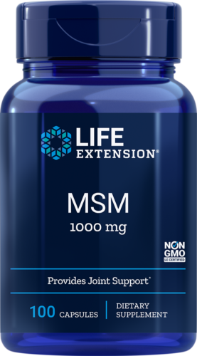MSM 1000mg Life Extension 100 Caps