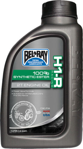 BEL-RAY H1-R 100% SYNTHETIC ESTER 2T E NGINE OIL LITER 99280-B1LW