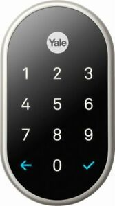 Nest x RB-YRD540-WV-619 Yale Lock with Nest Connect - Satin