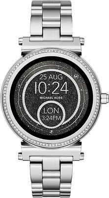 Michael Kors Access Women's Sofie Silver Glitz Touchscreen SmartWatch MKT5020