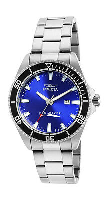 $59.00 - Invicta Pro Diver 15184 Men's Blue Round Analog Date Stainless Steel Watch