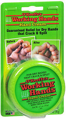 Okeeffes Working Hands Cream 3 4 Oz Lotion For Rough Cracked Skin Moisturizer
