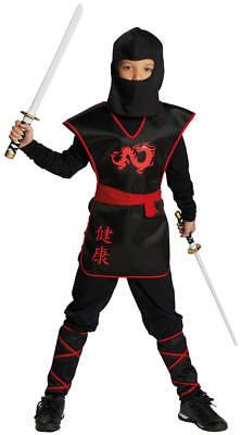 Ninja Krieger Kinder Karneval Kostüm Faschingskostüm 116-164