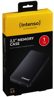 Intenso HDD externe Festplatte Memory Case 2,5 Zoll 1TB USB 3.0 schwarz online kaufen