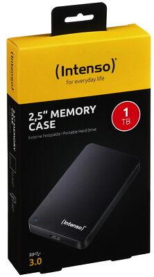 Intenso HDD externe Festplatte Memory Case 2,5 Zoll 1TB USB 3.0 schwarz