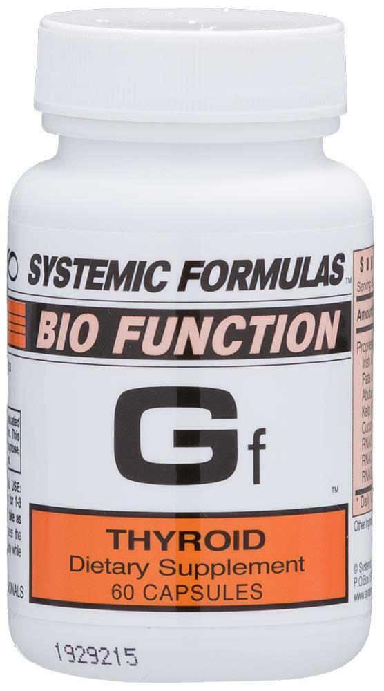 Systemic Formulas Bio Function Gf – Thyroid 60 Capsules
