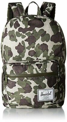 HERSCHEL SUPPLY CO POP QUIZ 22L (FROG CAMO) BACKPACK  NEW With Tags