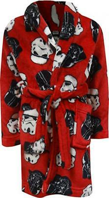 Star Wars Boys Character Print Plush Robe Size 4 6 8