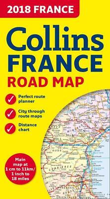 2018 Collins Map of France by Collins Maps