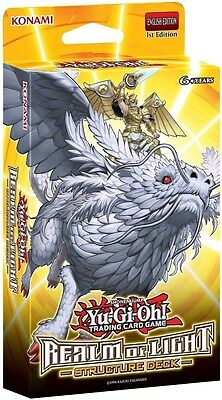 YUGIOH 1X REALM OF LIGHT STRUCTURE DECK PACK YU-GI-OH ENGLISH