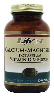 Calcium Magnesium Potassium (LifeTime Calcium Magnesium Potassium Vitamin D & Boron, 120)