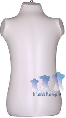 Inflatable Mannequin Toddler Torso Ivory