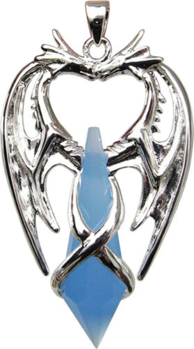 Double Dragon for Second Sight and Psychic Protection Pendant