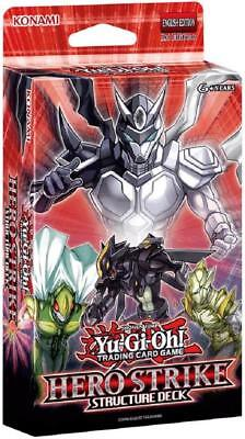 HERO STRIKE 1ST EDITION English Yugioh Card Structure Deck Konami - FREE SHIP