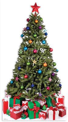 Weihnachten - Weihnachtsbaum - Christmas Tree Pappaufsteller Standy - Ca 190 Cm