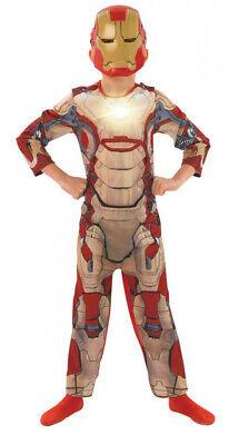THE AVENGERS IRON MAN 3 UNISEX FANCY DRESS MARVEL CHARACTER COSTUME](Iron Man Girls Costume)