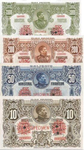 Ferdinand Banknotes Romania 1920 reproduction