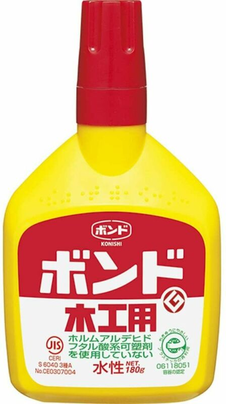 Bond for woodworking 180g (bottle) # 10132 Made in Japan