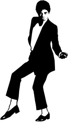 Michael Jackson Silhouette Car Decal Window Sticker - MJ006