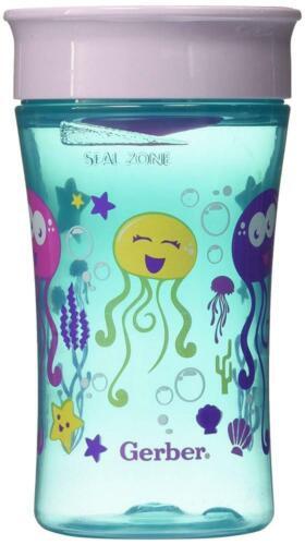 NUK Magic 360 Sippy Cup, Assorted Colors, 10oz 1pk