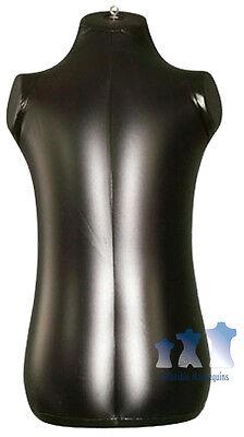 Inflatable Mannequin Toddler Torso Black