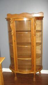 Bow front china hutch London Ontario image 1
