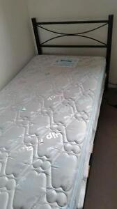 Single bed & mattress (Hip&back support) and Fridge Nollamara Stirling Area Preview