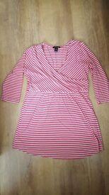 Materninty tunic and 2 dresses