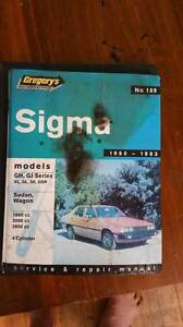 Sigma 1980 - 1983 workshop service manual Blacktown Blacktown Area Preview