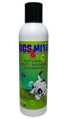 Ovante Dogs Mites Demodex Shampoo for Treatment of Dogs Puppies Demodectic Mange