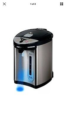Secura Electric Water Boiler and Warmer 4-Quart w/ Night light 18/10 Stainles..=