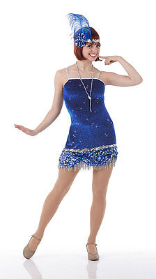 Flapper Costume Dance Jazz Tap Roaring 20's  GROUPS Halloween Child & Adult - Halloween Jazz Dance