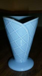 Set of 4 Blue Ice Cream Cups Kitchener / Waterloo Kitchener Area image 2