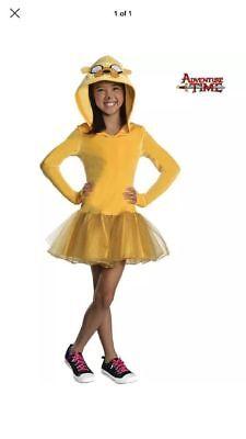 Adventure Time Jake Costume  Child Costume~Medium~NWT~FREE SHIPPING - Jake Adventure Time Costume