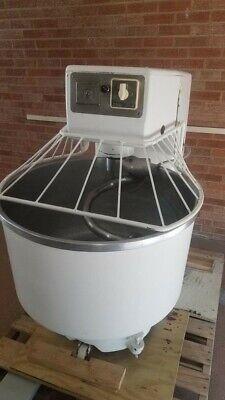 Rondoerka 120 Qt. Spiral Dough Hook Kneader Mixer Bakery Equipment Bagel Pizza