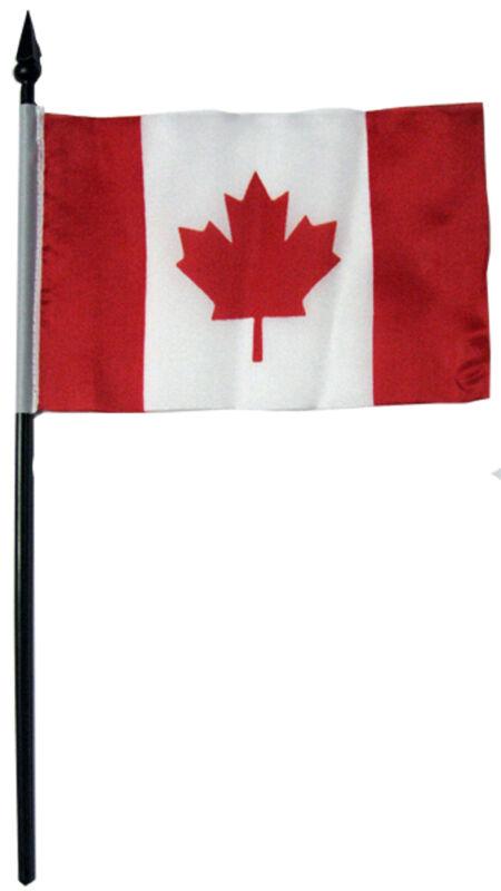 "Souvenir Canada Flag - 4""x 6"" - Bulk Lot 120"