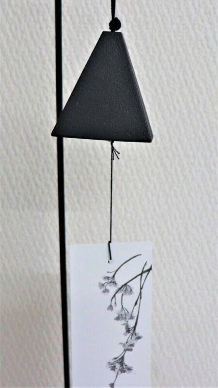 Furin Japanese wind chime Bell Nanbu Cast Iron Rectangle handcraft Japan