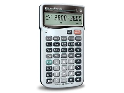 Real Estate Finance Calculator Qualifier Plus IIIx 3415