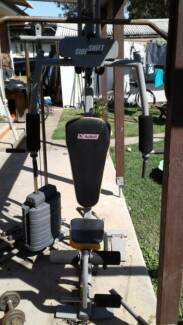 Home gym set up gym & fitness gumtree australia the hills