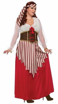 Pirate Wench - Adult Plus Size Pirate Costume (Pirate Wench Kostüm Plus)