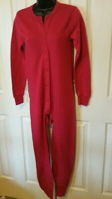 Red Suit For Kids (CLEARANCE Stanfield's Red Union Suit/Combination Small for)