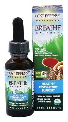 Host Defense - Breathe Extract 1 Oz FREE SHIPPING!!