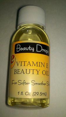 VITAMIN E BEAUTY OIL- NEW (1 FL OZ.) Super Fast FREE Shipping!! BEST