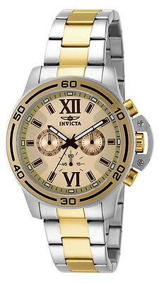 Invicta Specialty 15058 Men's Rose Gold Tone Roman Numeral Chronograph Watch
