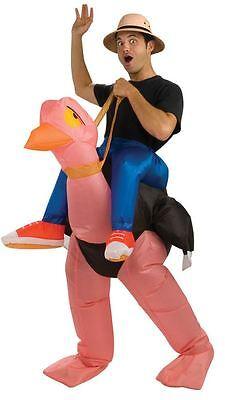 Aufblasbar Strauß Lustig Humor Erwachsenen Herren Damen Tier Halloween - Aufblasbare Strauß Kostüm