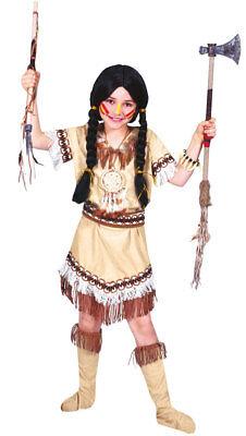 Indianerin Tanzendes Küken Kinderkostüm NEU - Mädchen Karneval - Indianer Kostüm Tanzen