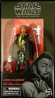 Star Wars The Black Series Lando Calrissian #65 6 Inch Action Figure *Young