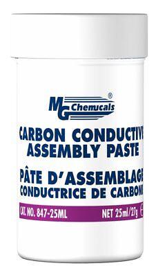 Mg Chemicals Carbon Conductive Assembly Paste 1 Oz Jar