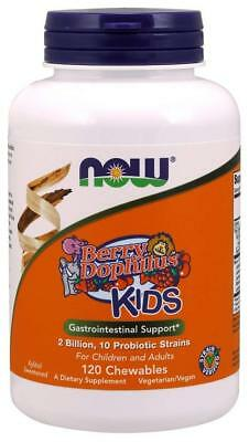 NOW FOODS, BERRYDOPHILUS KIDS. 2 Billion Probiotische 120Lutschta EXTRAPREIS