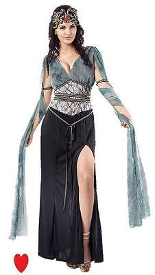 Medusa Griechische Göttin Römische Kleopatra Kostüm 10 12 14 Schlangen - Medusa Göttin Kostüm